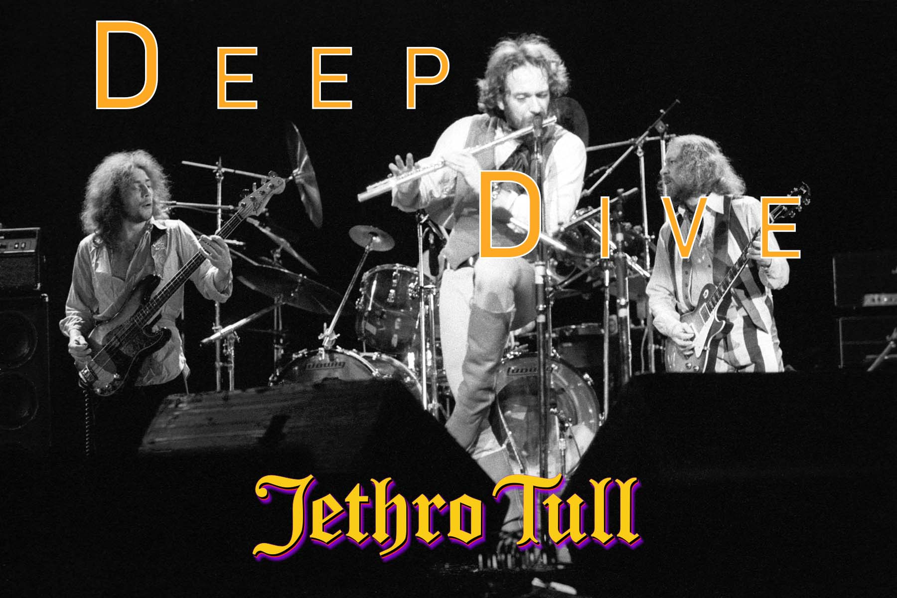 Jethro Tull in concert at the Hammersmith Odeon, London, UK - 11 Feb 1977